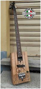 Samick Electric Cigar box Guitar Bass  by Robert Matteacci's.