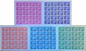 U459. Guinea - MNH - Famous People - Eleanor Roosevelt - Full Sheet