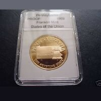 """SLABBED Proof """"States of the Union"""" - Pennsylvania"""