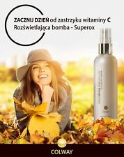 ⭕COLWAY💧Cellular Face Atelowater💧Superox-C, witamin C, fish collagen🍋150 ml