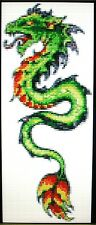 GREEN DRAGON ~ Counted Cross Stitch KIT #K29