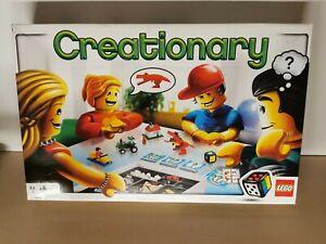 Creationary Spiel von LEGO vollständig