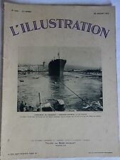 L'ILLUSTRATION n°4691 du 28 janvier 1933 /Paquebot DOUMER - Radio PHILIPS / Pub