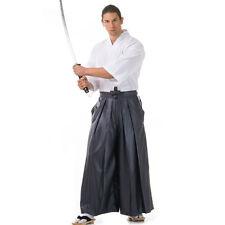 Japan Kendo Gi & Hakama Set Laido Aikido Samurai Kimono Set Grau Weiß M L XL