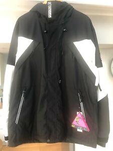 O`Neill Ski Jacket Snowboard Jacket X-Treme Black Snow Guard XL