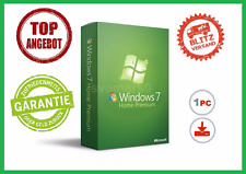 Microsoft Windows 7 Home Premium, 32/64BIT ✔ MS® Windows ✔ PRO VOLLVERSION