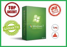 Microsoft Windows 7 Home Premium, 32/64BIT ✔ MS® Windows ✔ PRO VOLLVERSION