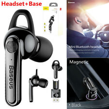 Baseus Magnetic Wireless Bluetooth Earphones Charging Headset For iPhone Samsung
