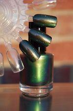 CHROMAFLAIR Multichrome Color Shift Nail Polish Top Coat -15 ml. Bottle