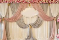 10x7Ft Backdrop Wedding Ceremony Banquet Background Photography Props Scene