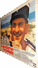 louis de funes LE GENDARME EN BALADE rare affiche geante 320x240cm st tropez