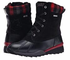 NIB - Cougar  Canada  -Totem Waterproof Boot - Black / Red - Size  6