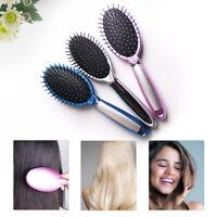 Homeuse Mini Hair Brush Massage Comb Scalp Healthy Paddle Cushion Hair Care