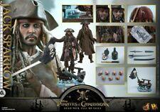 Hot Toys DX15 Pirates of the Carribean Jack Sparrow parfait état Vendeur Britannique.