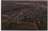 Aerial View of Clarion,PA Postcard