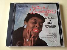 DINAH WASHINGTON IN THE LAND OF HI-FI *** FULL SILVER WEST GERMANY CD ***