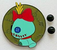 SCRUMP Disney Lilo & Stitch Homemade Rag Doll Companion Friend Fantasy Pin Green