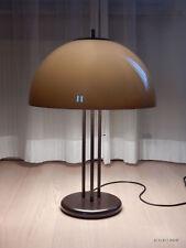 Cosack große Tischlampe 70er Jahre Messing Kunststoff