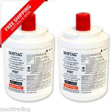 2 x Maytag UKF7003 Premium Genuine  Water Fridge Filter Amana UKF7003AXX
