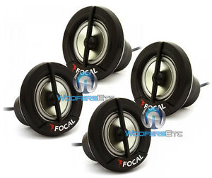 FOCAL 2 PAIRS OF TN41 HOME OR CAR AUDIO TWEETERS WITH RESISTERS NEW BULK LOT