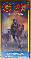 Grenadier Dragon Lords - 1604 goblins, Army of the Blood Forest (Mint, Sealed)