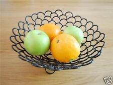 Wrought Iron French Style Fruit Toast Basket Bowl 003