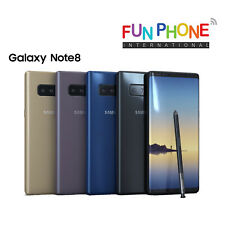 Samsung Galaxy Note8 64GB - Unlocked Smartphone good condition Choose color.
