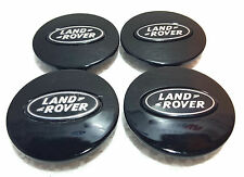 Land Rover Discovery 3 4 Freelander 1 2 Alloy Wheels Wheel Caps 63 mm Black