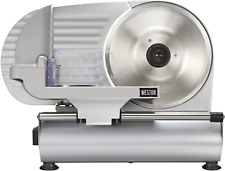 Weston Electric Meat Cutting Machine Deli Amp Food Slicer Adjustable Slice Thick