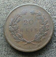 Portugal 20 Reis 1891 A KM#533  [13231]