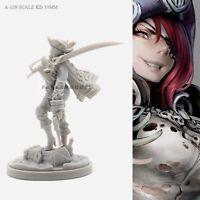 Swashbuckler Model for Kingdom Death Game Resin Figure Recast 30 mm
