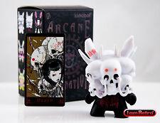"Death Black Variant - Arcane Divination Dunny Series 3"" Vinyl Figure - Kidrobot"