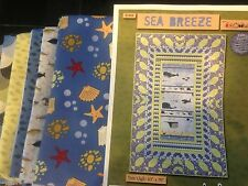 Wilmington Sea Breeze by Amy Shaw QUILT KIT Twin Size Fabric for Top & Pattern