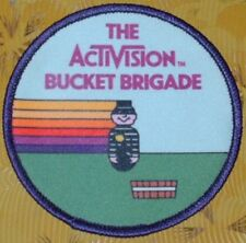 ~ Atari Video Game Vintage 80's Activision Award Patch Kaboom! Bucket Brigade ~