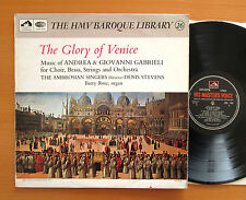 HQS 1093 The Glory Of Venice Andres & Giovanni Gabrieli Ambrosian Singers EX/VG
