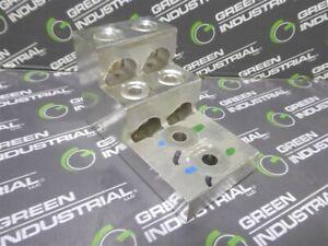 USED CMC PV4-750-1 4 Port Aluminum Mechanical Lug 750MCM-3/0