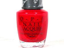 Opi Nail Polish You Make Me Vroom M10 Discontinued Red