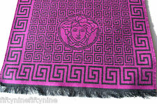 NEW GENUINE  VERSACE WOOL SCARF  MADE IN ITALY Women Gift