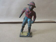 Rare Gray Iron 692 Desert Officer in Red Shirt Blue Shorts and Black Boots