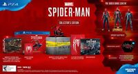 Marvel's Spider-Man Collector's Edition game Sony PlayStation 4 PS4 * NO CONSOLE