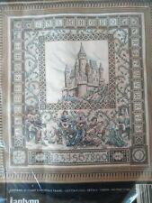 The Castle Sampler (Teresa Wentzler) counted cross stitch kit Janlynn sealed