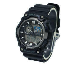 -Casio AEQ200W-1A Analog-Digital Watch Brand New & 100% Authentic