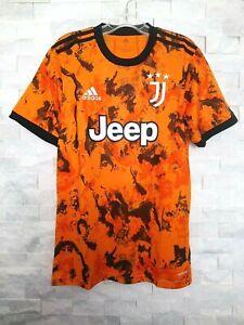 Adidas 2020-21 Juventus 3RD Jersey (GE4856) Orange-Noir
