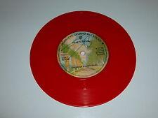 """DEAF SCHOOL - Thunder & Lightning - 1978 UK 7"""" Red vinyl single"""