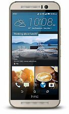 Unlocked HTC One M9 (Latest Model) - 32GB - Gold on Silver (AT&T) Smartphone