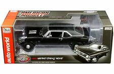 Auto World 1:18 American Muscle Car 1969 Yenko Chevrolet Nova Diecast AMM1178