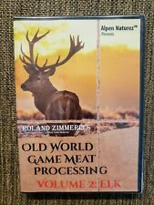 Game Meat Processing, Elk Meat Cutting Instructions, Meat Cutting, Wild Game Elk
