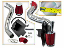 BCP RED 98-03 Chevy S-10 / GMC Sonoma 2.2L Heat Shield Cold Air Intake + Filter