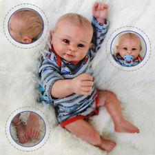 "20"" Full Body Soft Silicone Vinyl Reborn Baby Dolls Waterproof Newborn Gift Toy"
