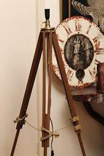 Classic Hand Made Nautical Floor LAMP Tripod vintage nautical floor lamp